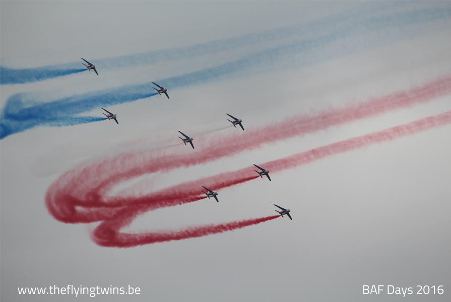 Patrouille de France Belgian Airforce Days 2016